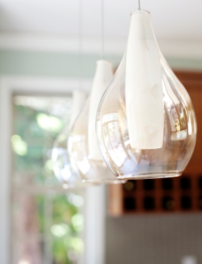 Pool House, pendant lighting